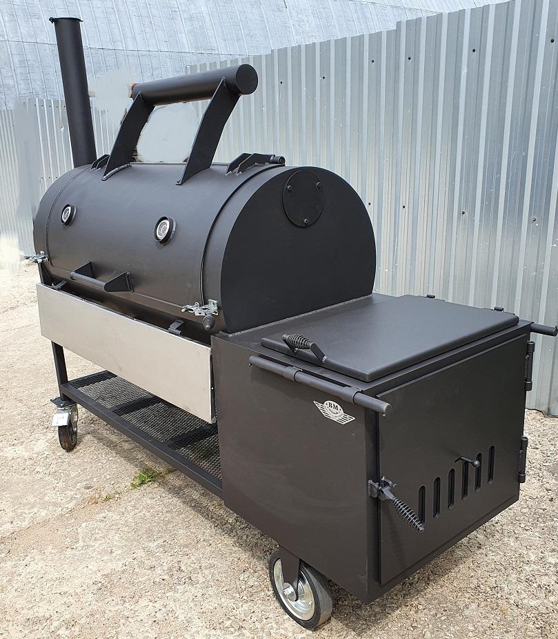 """BM S-5""  universal flow offset smoker (2021 Summer edition)"