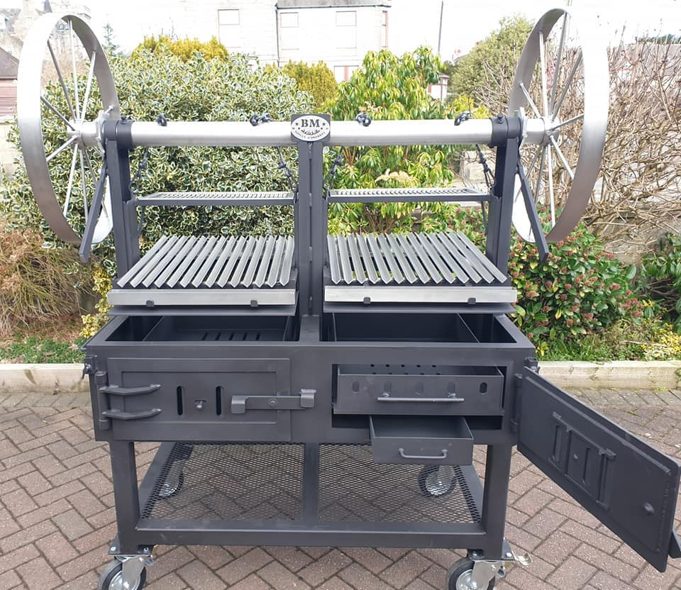 """""""BM G-5""""  Argentine Style Dual Grill  (commercial)"""