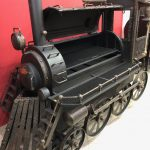 """BMT-0""  BBQ Train Offset Smoker/Grill"