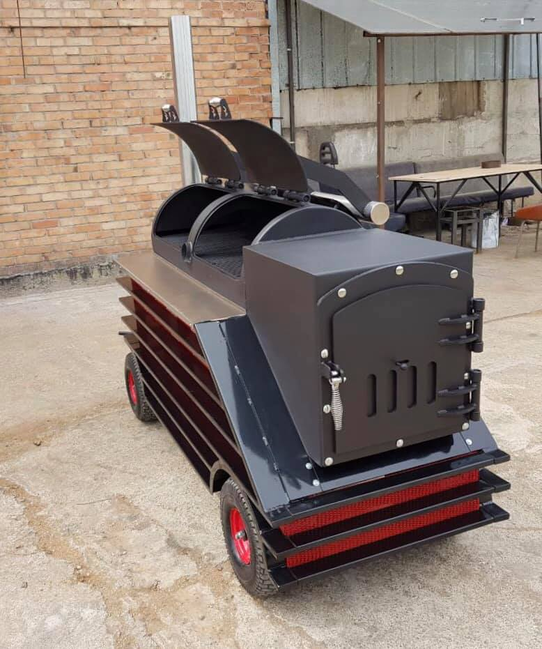 """BM S-2 Plus""  offset smoker"