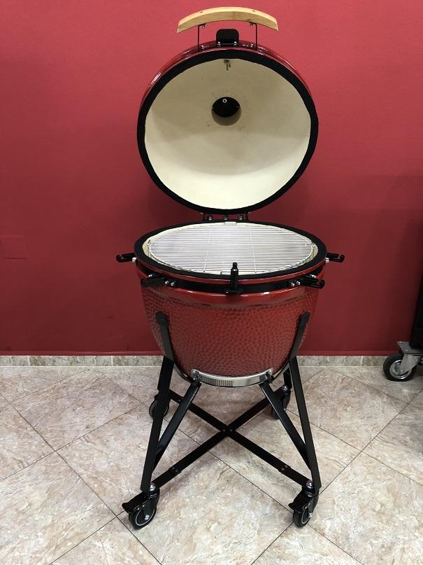 BM-25″   Ceramic Kamado Grill/Smoker (Red)