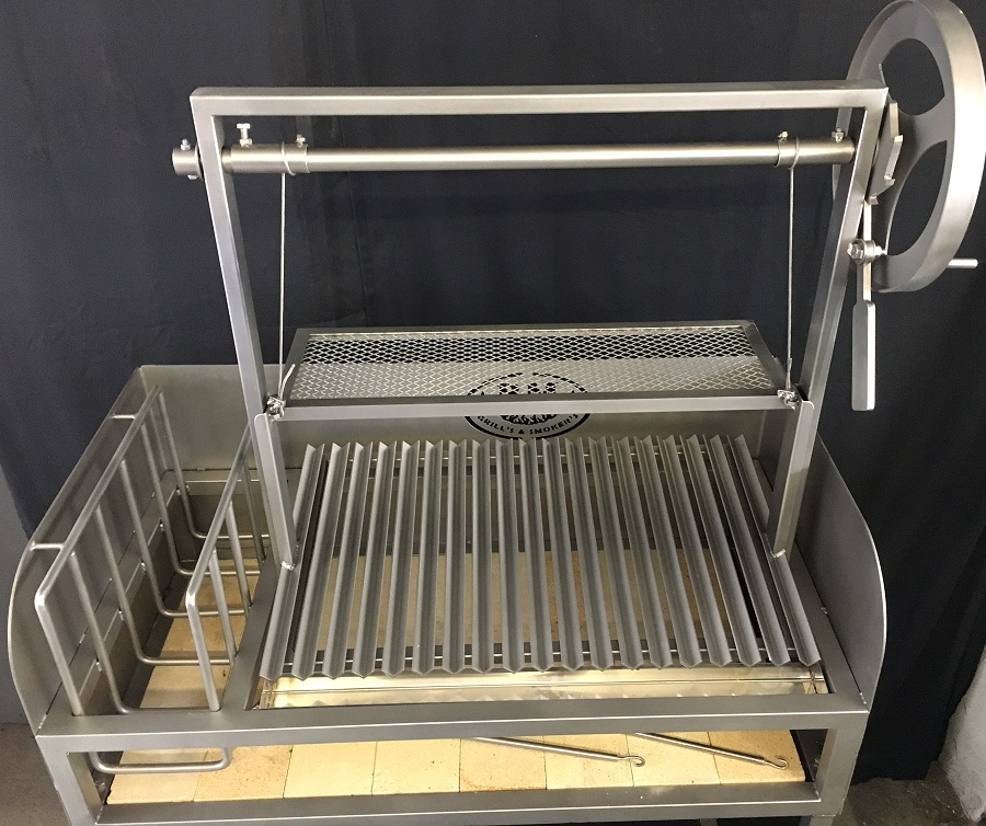"""""""BM GS-2""""  Argentine Grill  (Stainless Steel)"""