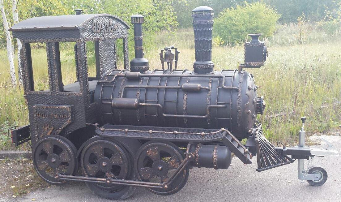 """BMT-1"" BBQ Train Trailer (Medium)"