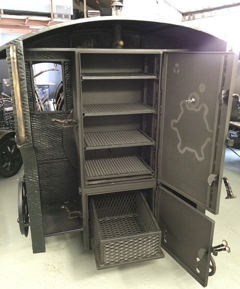 """BMT-2""  BBQ Train Trailer  (Large)"